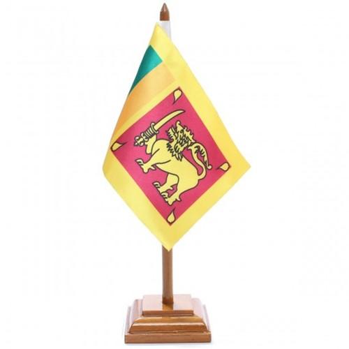 Bandeira de Mesa Sri Lanka 6625PM