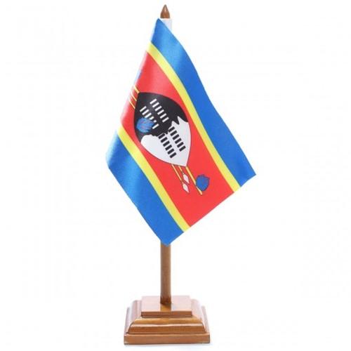 Bandeira de Mesa Suazilândia 6626PM