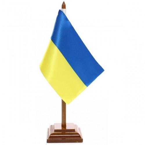 Bandeira de Mesa Ucrânia 6643PM