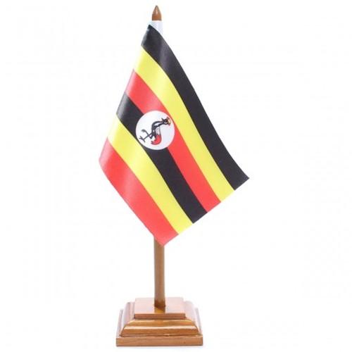 Bandeira de Mesa Uganda 6644PM
