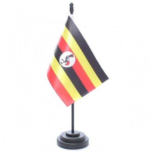 Bandeira de Mesa Uganda 6864PP