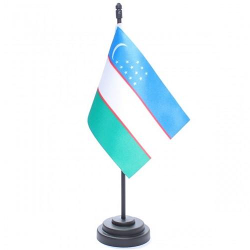 Bandeira de Mesa Uzbequistão 6866PP