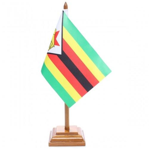 Bandeira de Mesa Zimbábue 6654PM