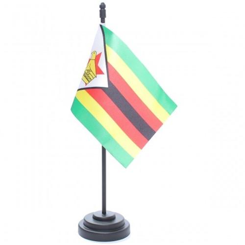 Bandeira de Mesa Zimbábue 6874PP