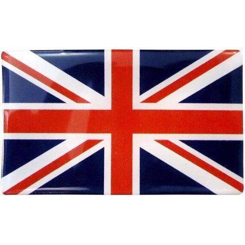 Bandeira do Reino Unido Inglaterra Resinada Adesivo