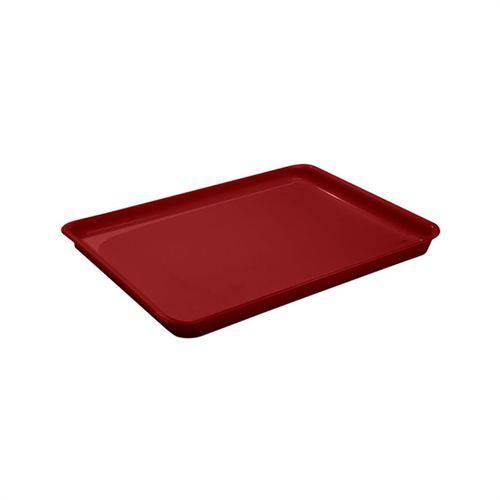Bandeja A4 em Polipropileno Casual Vermelho Bold Coza