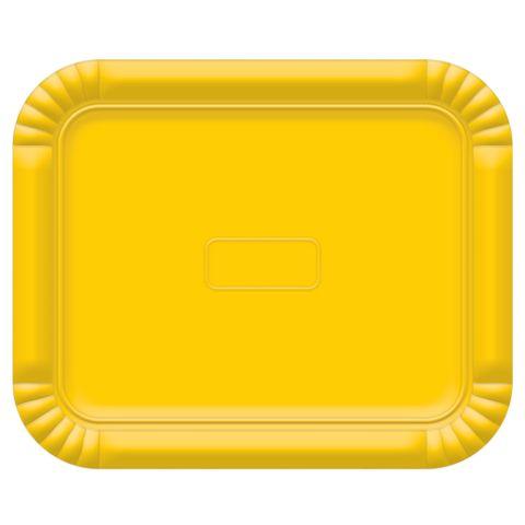 Bandeja Amarelo No5 38x31cm - Ultrafest