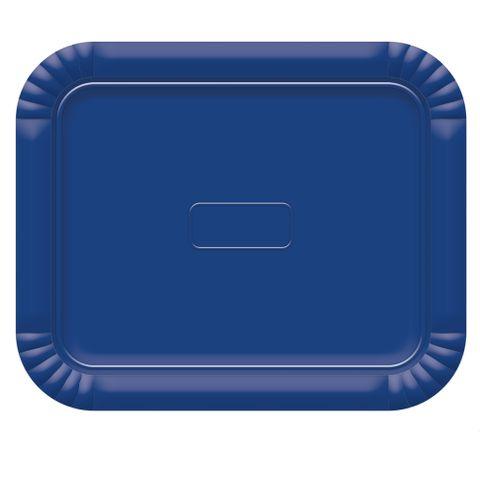 Bandeja Azul Escuro No4 33x27cm - Ultrafest
