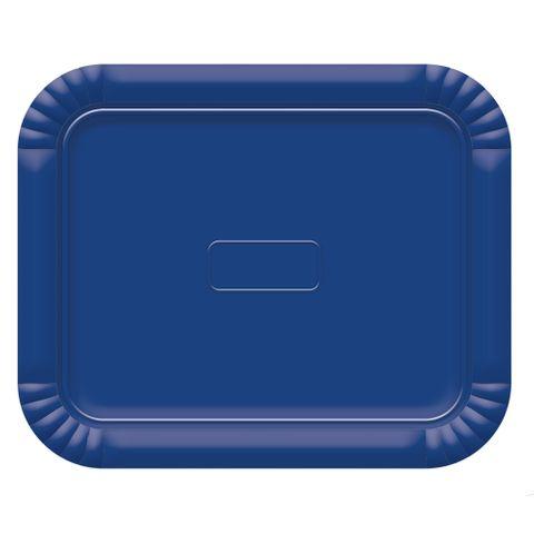 Bandeja Azul Escuro No6 45x36cm - Ultrafest