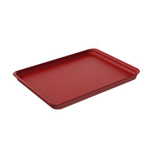 Bandeja Casual A4 32,5 X 23,5 X 2,5 Cm Vermelho Bold - Coza