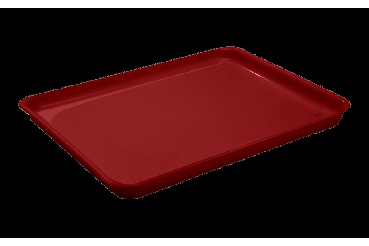 Bandeja Casual A4 32,5 X 23,5 X 2,5 Cm Vermelho Bold Coza