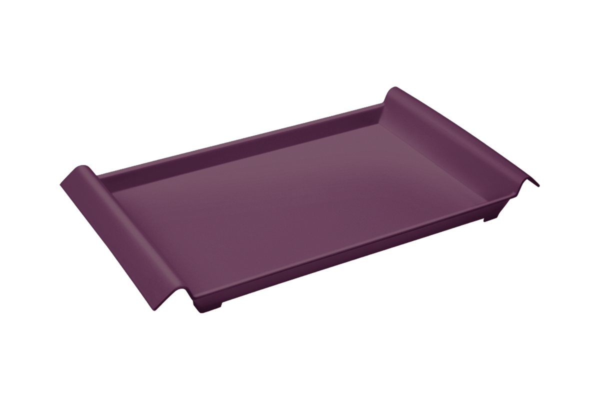 Bandeja Casual Pequena 34 X 19 X 3,8 Cm Roxo Púrpura Coza
