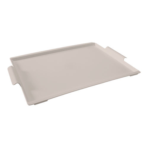 Bandeja Casual Maxi 50,7 X 33,6 X 3 Cm Light Gray Coza