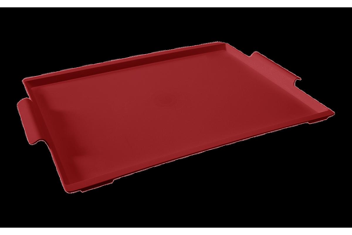 Bandeja Casual Maxi 50,7 X 33,6 X 3 Cm Vermelho Bold Coza