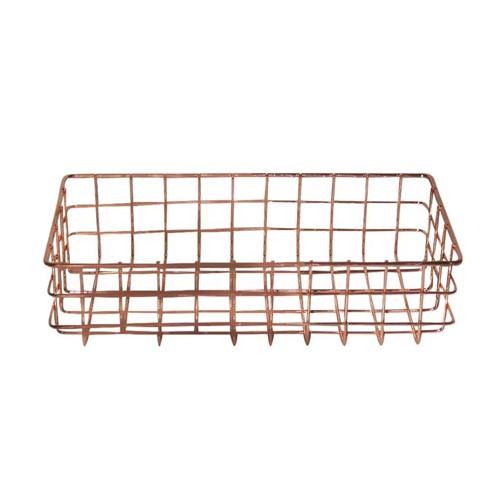 Bandeja/Cesta Aramada Wire Med 27 Cm X 13,5 Cm