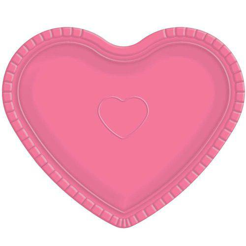 Bandeja Coração Rosa - Ultrafest