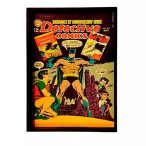 Bandeja de Madeira Batman Vintage DC Comics