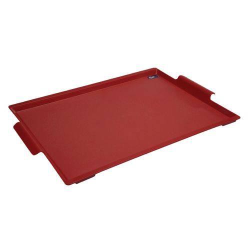 Bandeja Maxi 50,7 X 33,6 X 3 Cm Vermelho - Coza