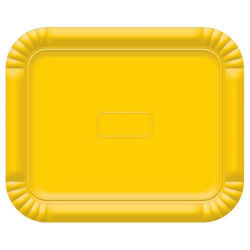 Bandeja No4 Amarelo 33x27cm - Ultrafest