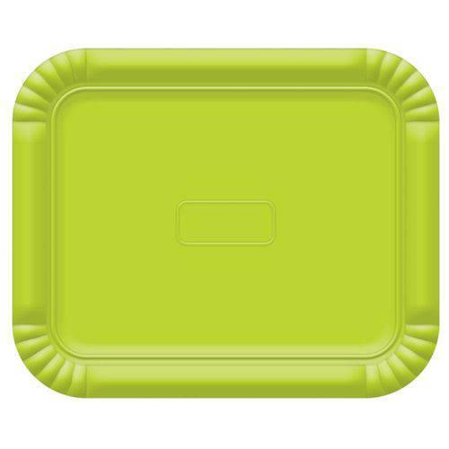 Bandeja No4 Verde Limao 33x27cm - Ultrafest