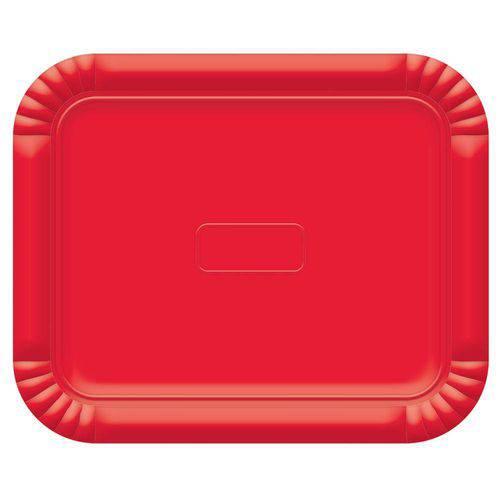 Bandeja No4 Vermelho 33x27cm - Ultrafest