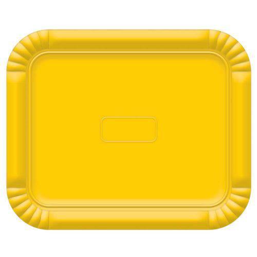 Bandeja No5 Amarelo 38x31cm - Ultrafest