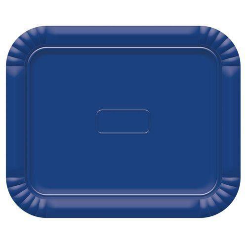 Bandeja No5 Azul Escuro 38x31cm - Ultrafest