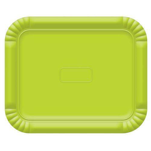 Bandeja No5 Verde Limao 38x31cm - Ultrafest