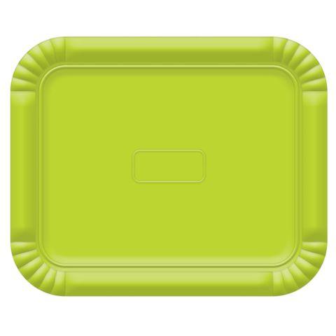 Bandeja No5 Verde Limão 38x31cm - Ultrafest