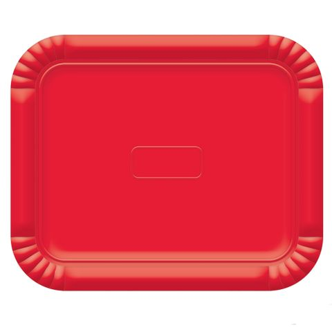 Bandeja No5 Vermelho 38x31cm - Ultrafest