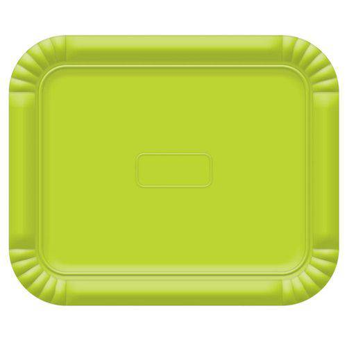 Bandeja No6 Verde Limao 45x36cm - Ultrafest