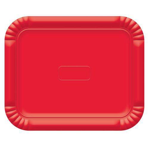 Bandeja No6 Vermelho 45x36cm - Ultrafest