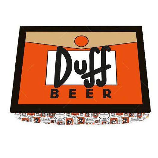 Bandeja para Notebook Simpsons Duff Beer 43x33cm 250018 Tvs