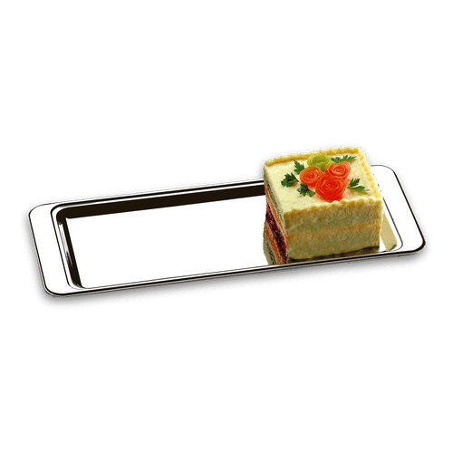 Bandeja para Torta Fria/Rocambole - Atina 40 X 16 Cm