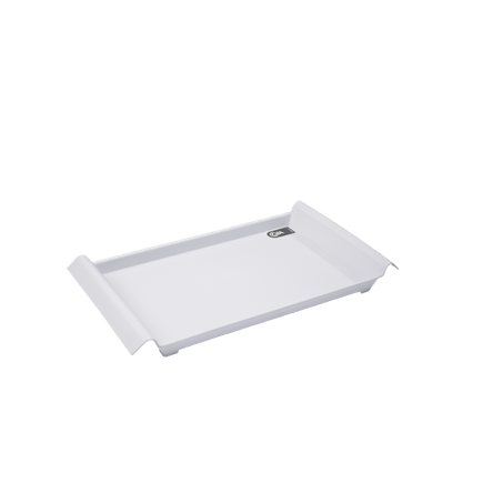 Bandeja Pequena Casual 34 X 19 X 3,8 Cm Branco Coza