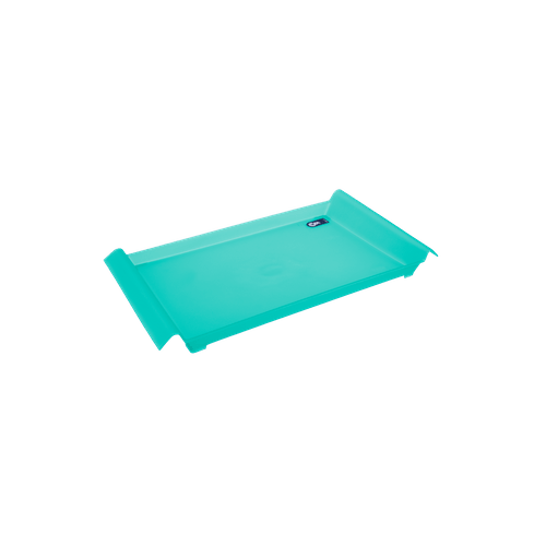 Bandeja Pequena - Mesa PP 34 X 19 X 3,8 Cm Verde Coza