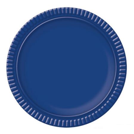 Bandeja Redonda N.4 Azul Escura - 25cm - Unidade