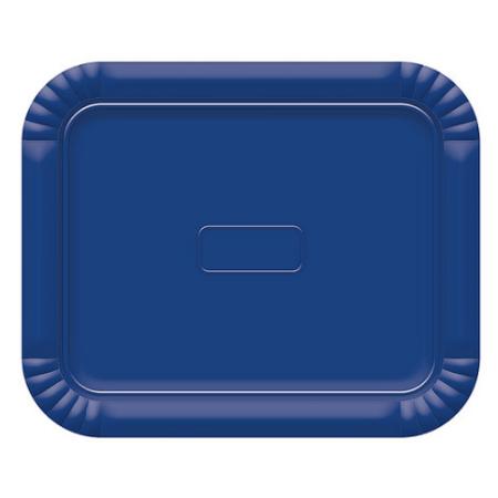 Bandeja Retangular N.3 Azul Escuro - 22cm X 27cm - Unidade