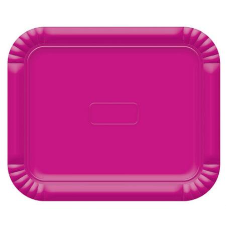 Bandeja Retangular N.3 Pink - 22cm X 27cm - Unidade