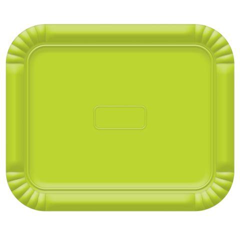 Bandeja Verde Limão No6 45x36cm - Ultrafest