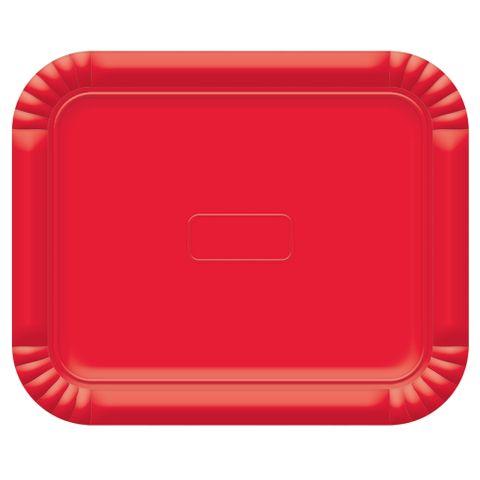 Bandeja Vermelha No4 33x27cm - Ultrafest
