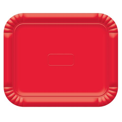 Bandeja Vermelho No6 45x36cm - Ultrafest