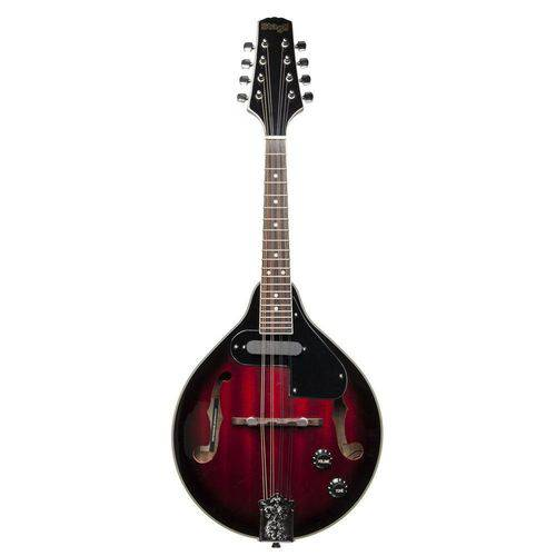 Bandolim Mandolin Stagg M50e Redburst M50 Elétrico