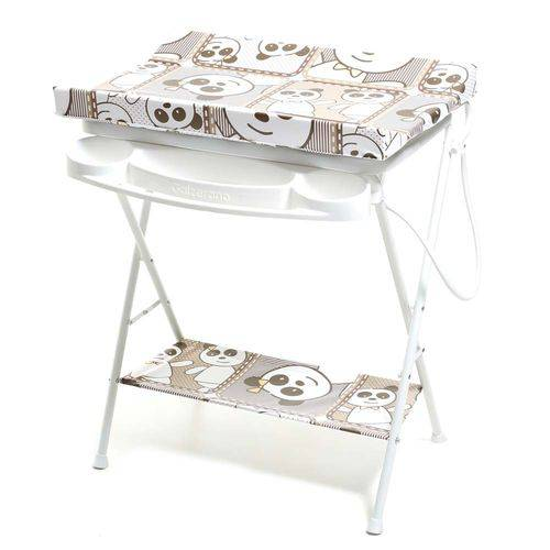 Banheira de Bebê Plástica Luxo Galzerando Panda 7015PA