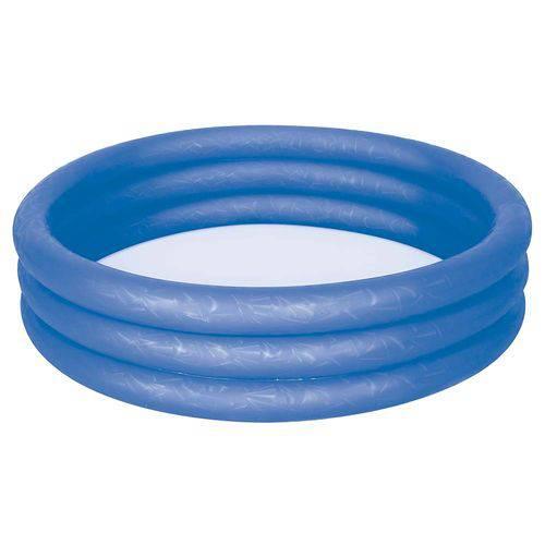Banheira Inflável 130 Litros - Azul