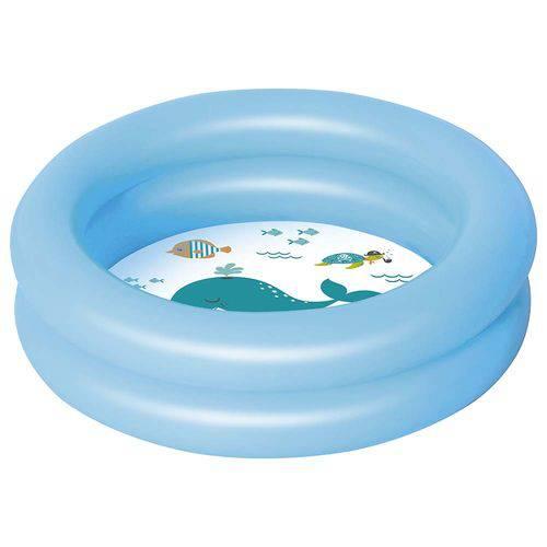 Banheira Inflável 28 Litros - Azul