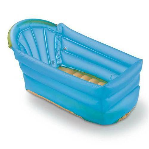 Banheira Inflável Azul 0 Até 6 Meses Multikids Baby