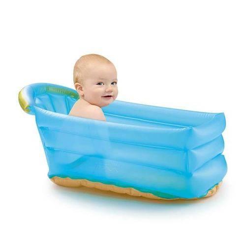 Banheira Inflável Bath Budd Azul Multikids