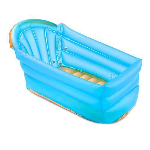 Banheira Inflável Bath Buddy Azul Bb173 - Multikids