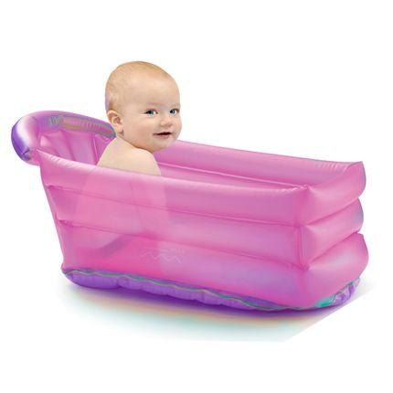 Banheira Inflável Bath Buddy Girl (6m+) - Multikids Baby
